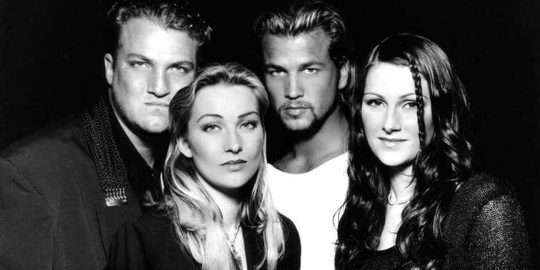 Band members of Ace of Base