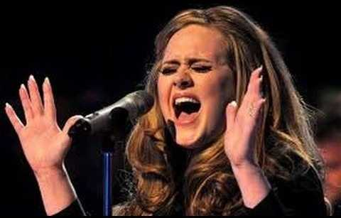 Adele once had serious voice condition or voice hemorrage