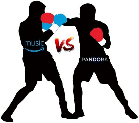 Difference between amazon music unlimited and pandora premium
