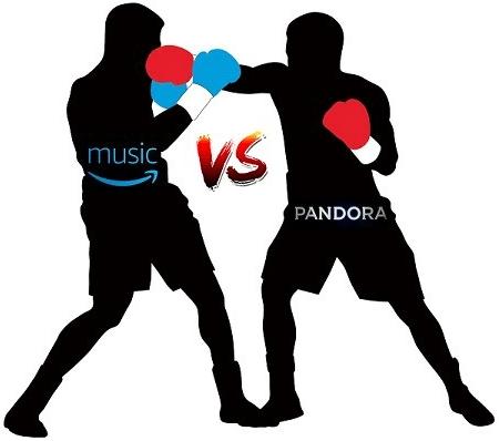 Amazon Music Unlimited vs Pandora, who's the winner?