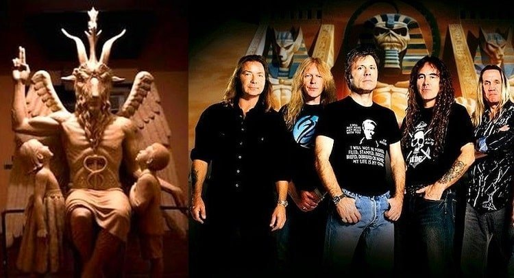 Iron Maiden were honored with an MBE by the Queen of England