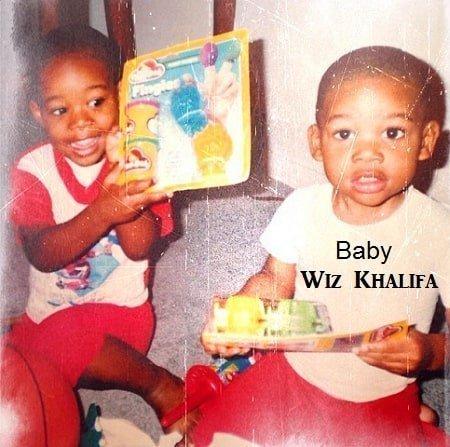 A very young Wiz Khalifa