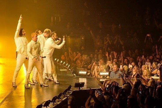 Backstreet Boys were booed off during a live concert