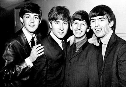 Beatles  were deported from Germany for organizing illegal street concerts