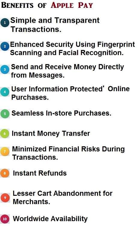 Advantages of Apple Pay