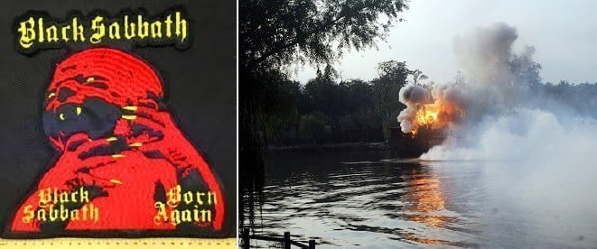 Black Sabbath created huge ruckus while filming Born Again