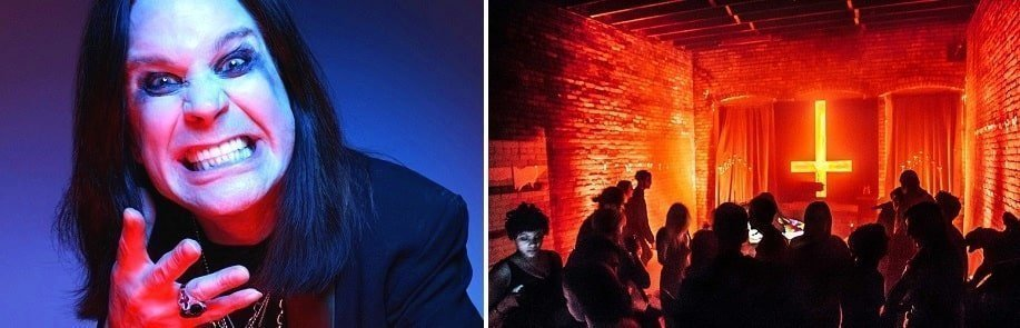 Black Sabbath band members were regarded as satan worshippers