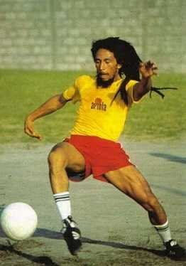 Bob Marley was a professional football player.