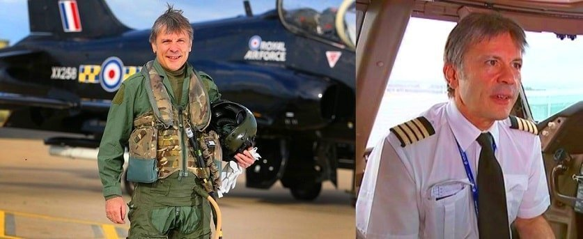 Bruce Dickinson of Iron Maiden served as a Captain in Her Majestys Royal Air Force