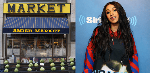 Cardi B had humble beginnings working as a cashier in Amish Market