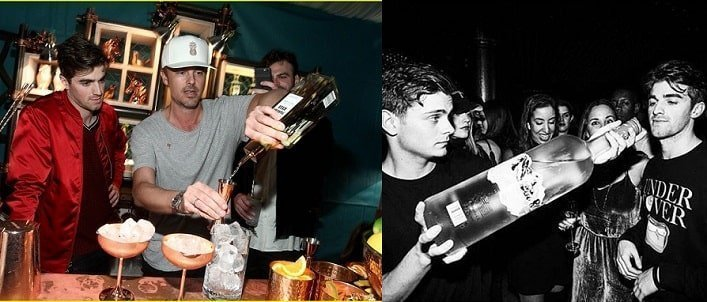 The Chainsmokers enjoy drinking