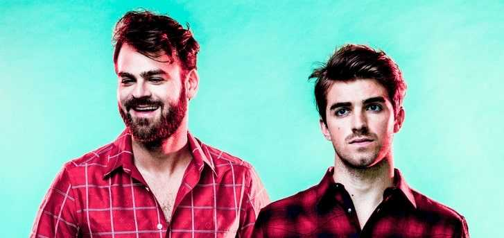 Chainsmokers duo consist of American French DJ pair of  Alex Pall and Andrew Taggart