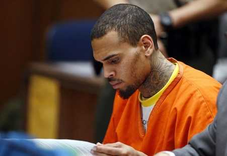 Chris Brown was in trouble with the day almost every single day