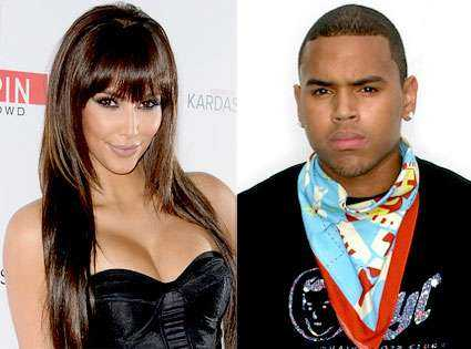 Kim Kadarshian was very close to Chris Brown before she met Kanye West