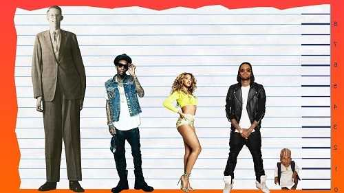 Chris Brown never wanted to be too tall