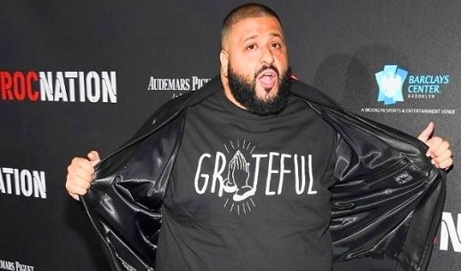 DJ Khaled was evicted from his house ten times