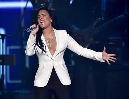 Demi Lovato suffered a serious hand injury that needed a mold.