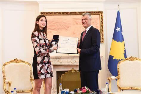 Dua Lipa was honored by Kosovian government
