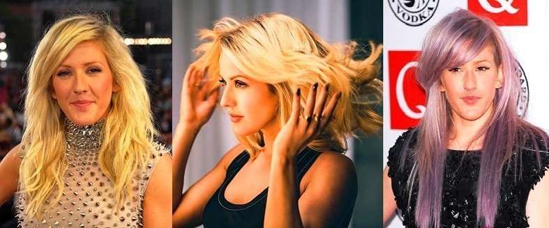 Ellie Goulding amazing hairstyle