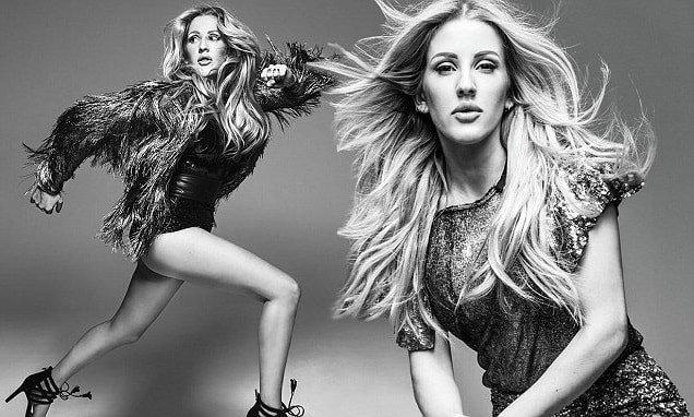 Modelling pics of Ellie Goulding
