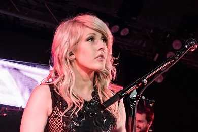 Ellie Goulding is a hardcore vegan