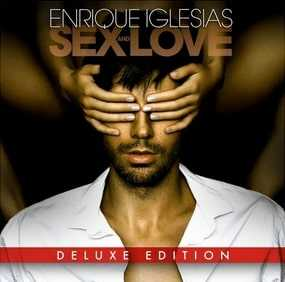 Enrique Iglesias's Sex And Love streams on amazon music unlimited,spotify and apple music