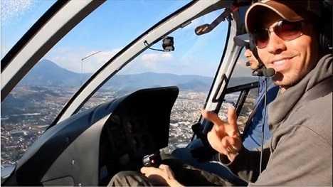 Enrique Iglesias is a professional pilot.