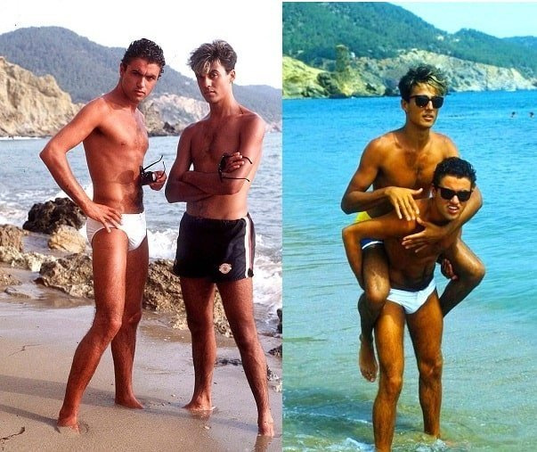 Are George Michael and Andrew Ridgeley of WHAM gay