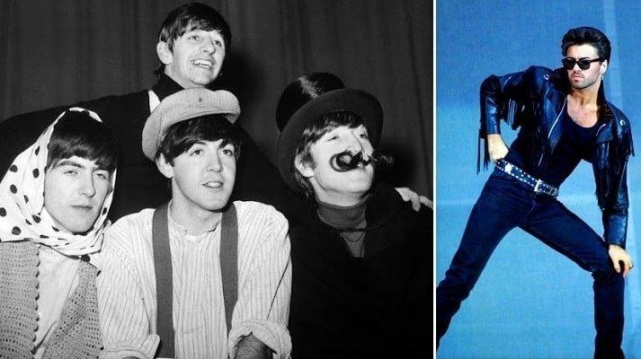 George Michael grew up listening to Beatles