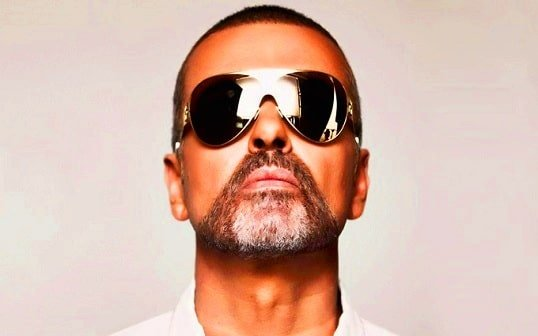 George Michael wears shades to hide is color blindness