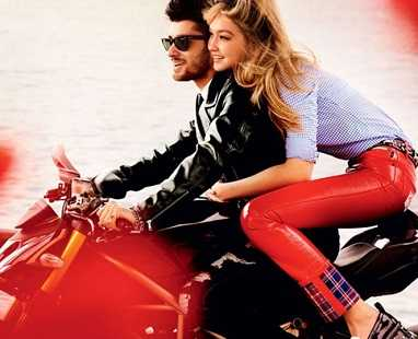 Hot pic of Gigi Hadid and Zayn Malik