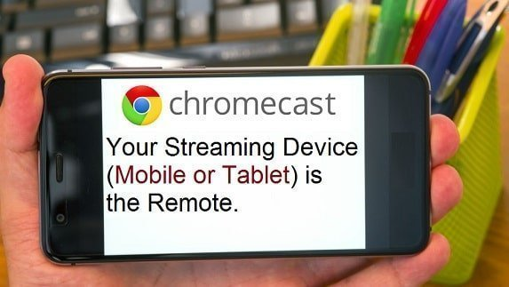 Does Google Chromecast have a remote