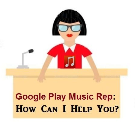 How to contact Google Play Music customer care