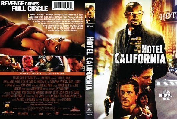 The title Hotel California was used for an action movie