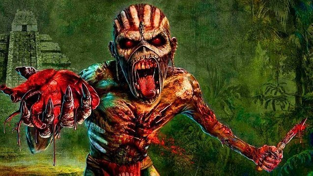 Eddie the Iron Maiden mascot might frighten your kids