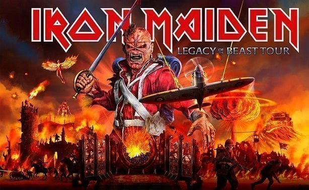 Iron Maiden performed in Bosnia during a raging civil war