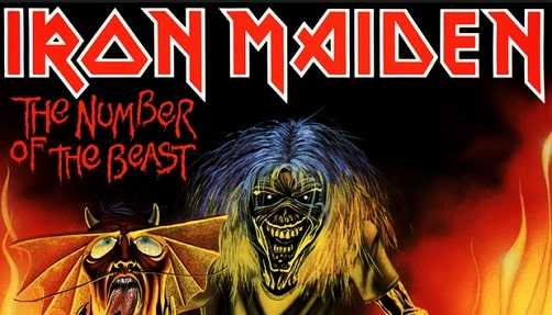 Iron Maiden number of the beast is on amazon music unlimited, spotify, tidal and deezer.