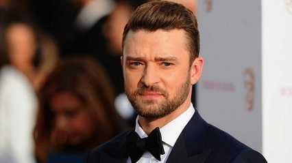 Bearded Justin Timberlake