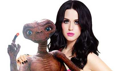 Katy Perry believes in aliens and UFOs