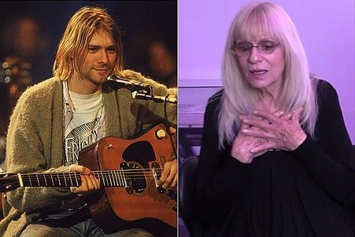 Kurt Cobain mother threw him out of the house