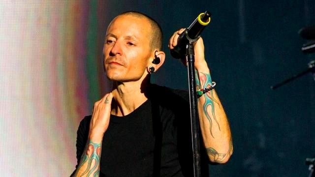 Last photo of Chester Bennington before his death