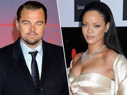 Rihanna and Leonardo Di Caprio dated for a while