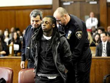 Lil Wayne arrested for illegal drug possession