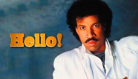 Lionel Richie debut album Hello is a multi platinum album