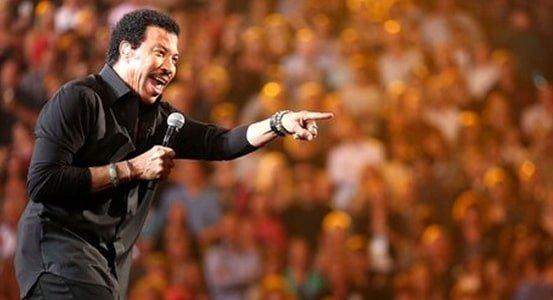 Lionel Richie almost lost his voice