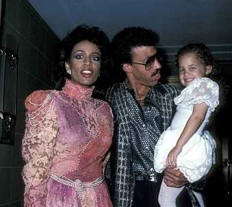 Lionel Richie with Brenda Harvey and Sophie Richie