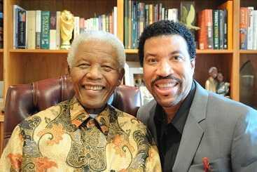 Lionel Richie took Nelson Mandela shopping