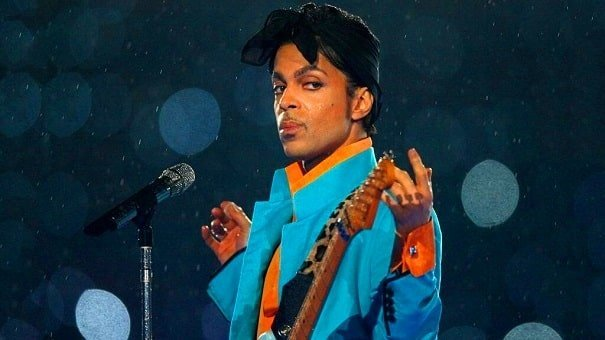 Singer Prince live performance