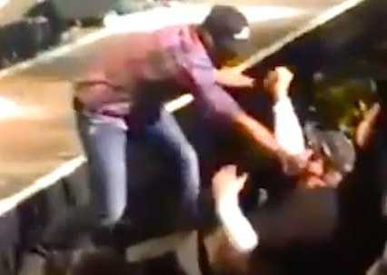 Luke Bryan punched a bully in his concert