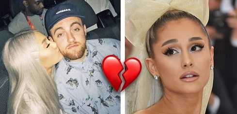 Mac Miller overdosed because of his break up with Ariana Grande